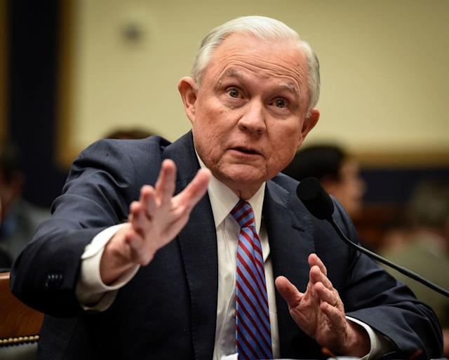U.S. Attorney General Jeff Sessions (Photo: Getty Images)