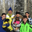 """<p>Jessica and Jerry Seinfeld tried to use the family time to their advantage and snap a group photo. """"And for one half of a second, they stopped fighting,"""" she wrote. """"I am about to lose it. This is our holiday card because I didn't do one. Happy holidays. If we make it to 2017 it will be a miracle."""" (Photo: <a rel=""""nofollow noopener"""" href=""""https://www.instagram.com/p/BOfmi0cg0ea/"""" target=""""_blank"""" data-ylk=""""slk:Instagram"""" class=""""link rapid-noclick-resp"""">Instagram</a>) </p>"""
