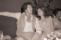 <p>Sylvester and Sasha Stallone paid a visit to the nation's most popular disco, Studio 54, in 1978.</p>