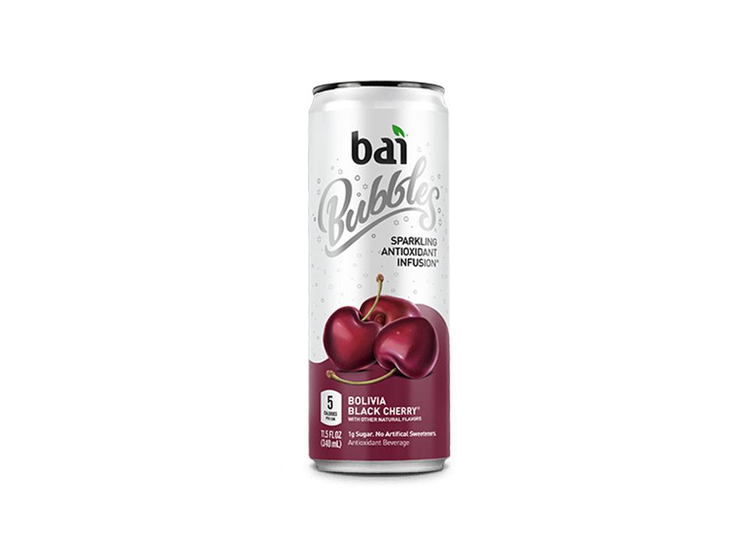 """<div>5 calories, 0 g fat, 10 mg sodium, 11 g carbs (1 g sugar, 10 g Erythritol), 0 g protein</div>       If you combine your <a rel=""""nofollow"""" href=""""https://www.eatthis.com/healthiest-sodas-2017/?utm_source=yahoo-news&utm_medium=feed&utm_campaign=yahoo-feed"""">seltzer</a> obsession with your love for fruit juice, you get Bai's sparkling energy drinks. Taste-tempting flavors include black cherry, blood orange, grapefruit, blackberry lime, pineapple, watermelon lime, and coconut lime. One can serves up 45 milligrams of caffeine (the equivalent of one cup of green tea) with just 1 gram of sugar and 5 calories. It's so refreshing that it also makes a great mixer for <a rel=""""nofollow"""" href=""""https://www.eatthis.com/low-carb-alcohol/?utm_source=yahoo-news&utm_medium=feed&utm_campaign=yahoo-feed"""">low-sugar cocktails</a>.  <strong>$19.92 per 12-pack on <a rel=""""nofollow"""" href=""""https://www.amazon.com/gp/product/B00N14ZL88/ref=as_li_qf_asin_il_tl?ie=UTF8&tag=eathnoth06-20&creative=9325&linkCode=as2&creativeASIN=B00N14ZL88&linkId=275b900d8b3c7ccd31169426da075548"""">Amazon</a></strong>"""