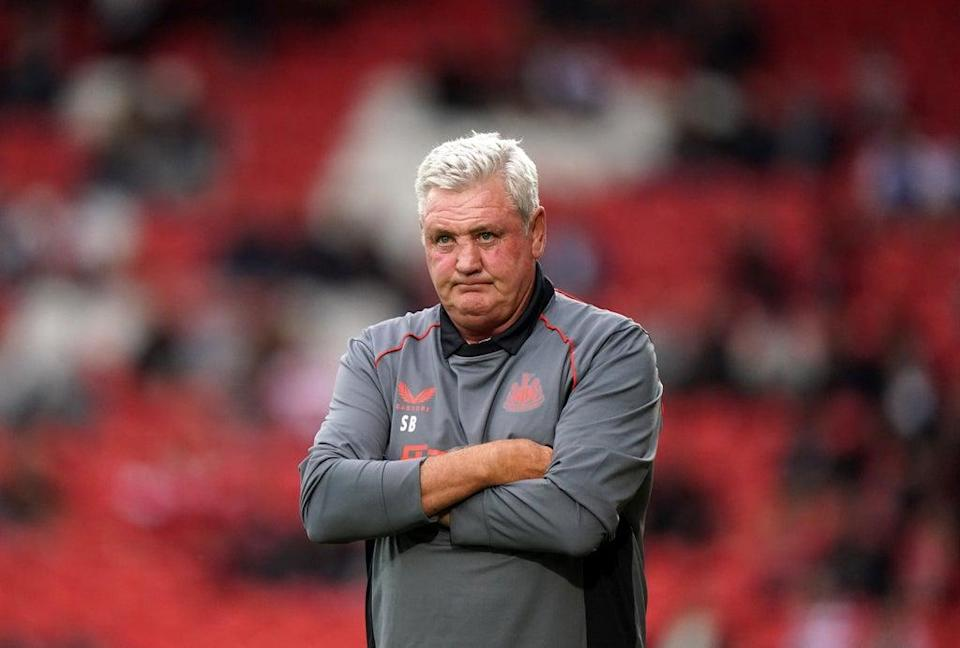 Steve Bruce was left to lament missed chances after Ismaila Sarr's equaliser denied Newcastle their first win of the Premier League season with a 1-1 draw at Watford (Tim Goode/PA) (PA Wire)