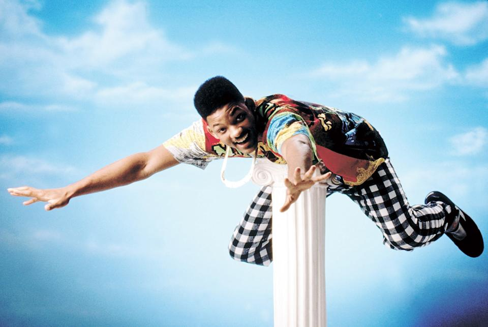 Will Smith starred in 'The Fresh Prince of Bel-Air' from 1990 to 1996 (Photo: Warner Bros./ Courtesy: Everett Collection)