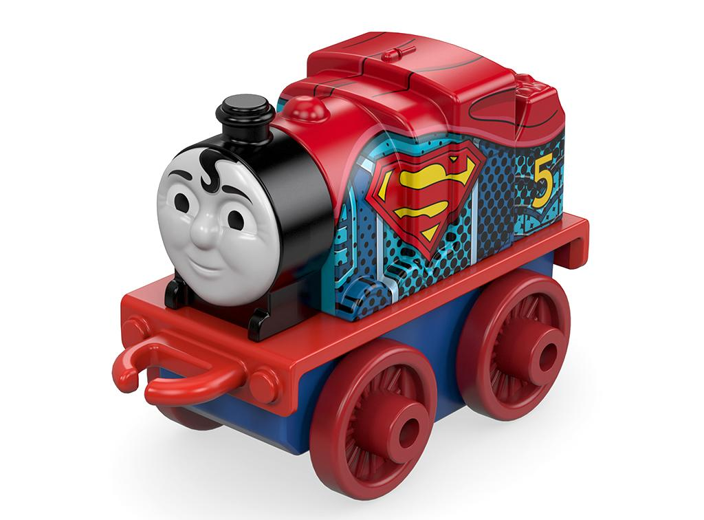 <p>You can bet that the oft-naughty Red Engine will be on his best behavior when he's sporting the Superman symbol. You wouldn't want to let the Last Son of Krypton down. (Photo: Fisher-Price) </p>