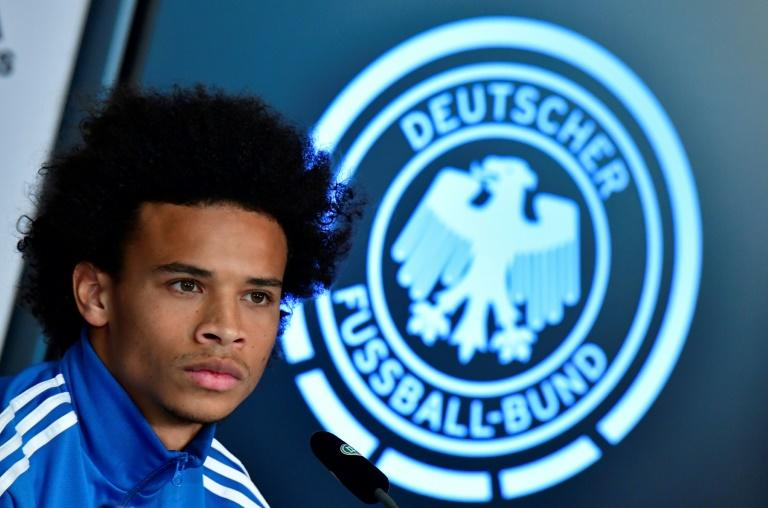 Midfielder Leroy Sane was left out their World Cup squad