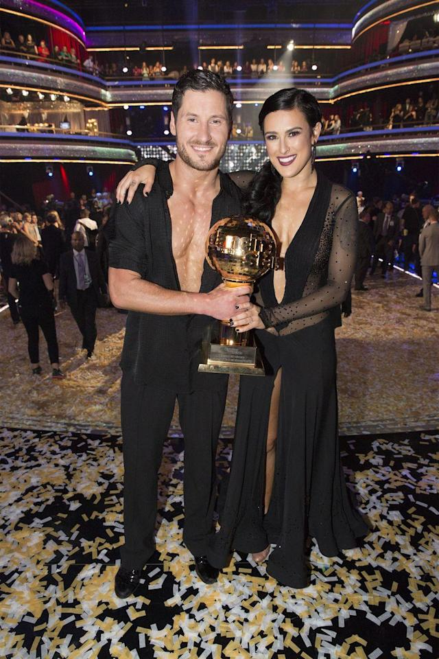 <p>Broadway performer (and daughter of Demi Moore and Bruce Willis!) Rumer Willis and partner Valentin Chmerkovskiy were able to dance their way to the top of season 20. Those <em>Chicago </em>moves surely didn't hurt her ability to perform on the dance floor.</p>