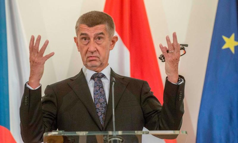 Czechs expel two Russian diplomats over fake poisoning plot