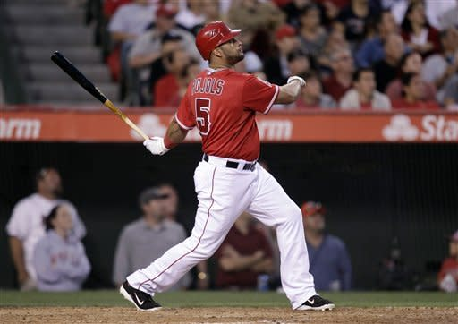 Powerful Angels blast Yankees for 8th straight win