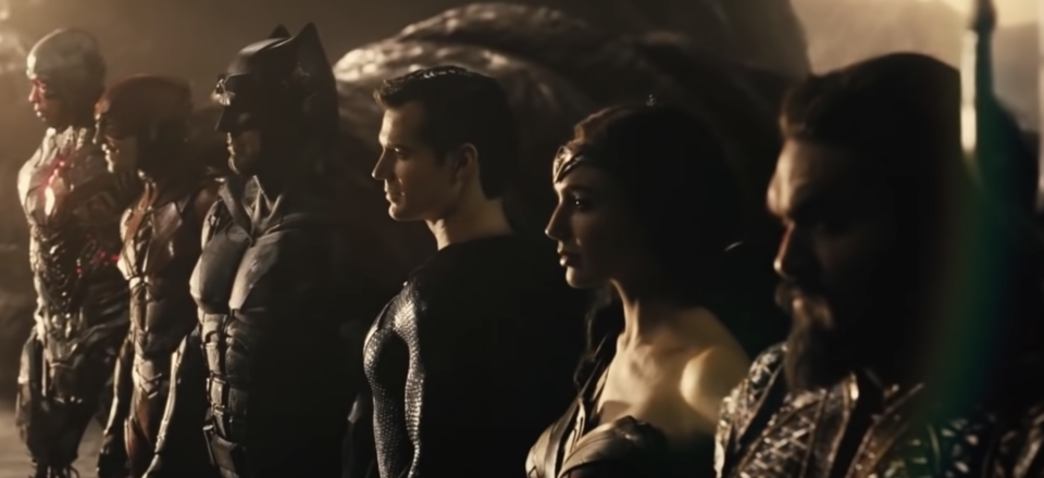 The Justice League assemble in Zack Snyder's cut of 'Justice League' (Photo: HBO Max/YouTube)