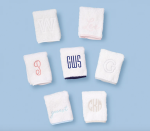 """<p><strong>Weezie Towels</strong></p><p>weezietowels.com</p><p><strong>$40.00</strong></p><p><a href=""""https://go.redirectingat.com?id=74968X1596630&url=https%3A%2F%2Fweezietowels.com%2Fproducts%2Fpiped-edge-hand-towels&sref=https%3A%2F%2Fwww.countryliving.com%2Fshopping%2Fgifts%2Fg34500004%2Fmonogram-gift-ideas%2F"""" rel=""""nofollow noopener"""" target=""""_blank"""" data-ylk=""""slk:Shop Now"""" class=""""link rapid-noclick-resp"""">Shop Now</a></p><p>Choose from nine different colors and six different monogram types to customize hand towels for your powder bathroom.</p>"""