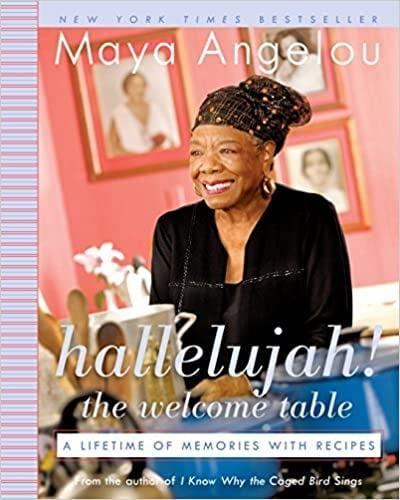 <p>I only recently found out that Maya Angelou wrote a cookbook, so I'll be getting <span><strong>Hallelujah! The Welcome Table: A Lifetime of Memories With Recipes</strong></span> ($20) ASAP. This cookbook needs no introduction.</p>
