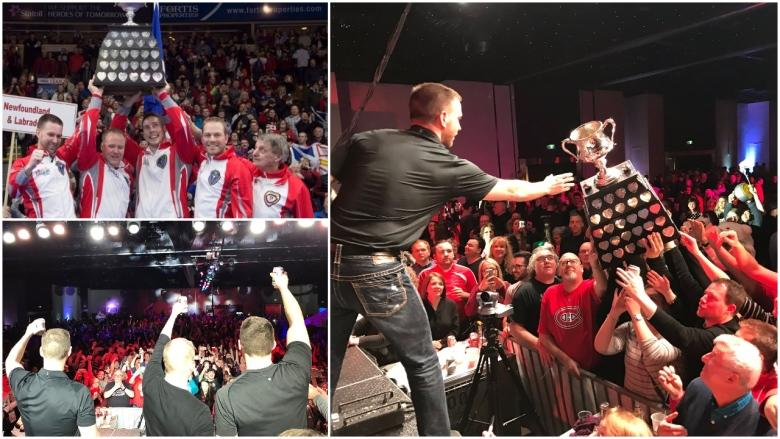 A fairytale ending: Fans share in the excitement of Team Gushue's 1st Brier win