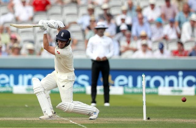 Jack Leach made a career-best having opened the batting against Ireland