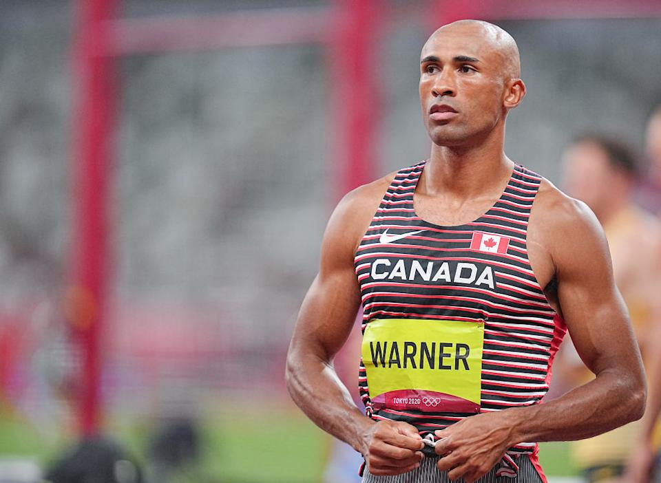 Damian Warner leads men's decathlon, Andre De Grasse added to Canada's gold medal count, and everything else you missed from the Tokyo Games. (Getty Images)