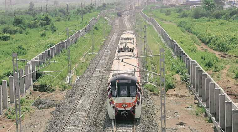 China-made train coaches for Nagpur metro come off production line