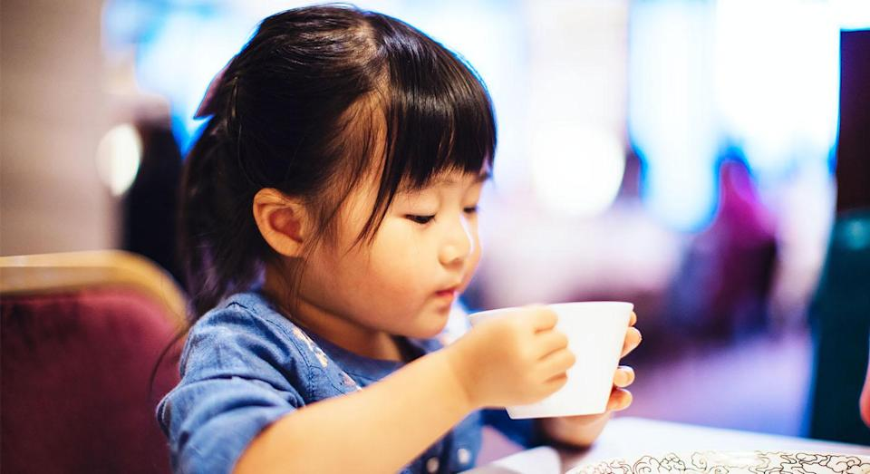 Parents are divided over whether or not toddlers should drink tea. [Photo: Getty]