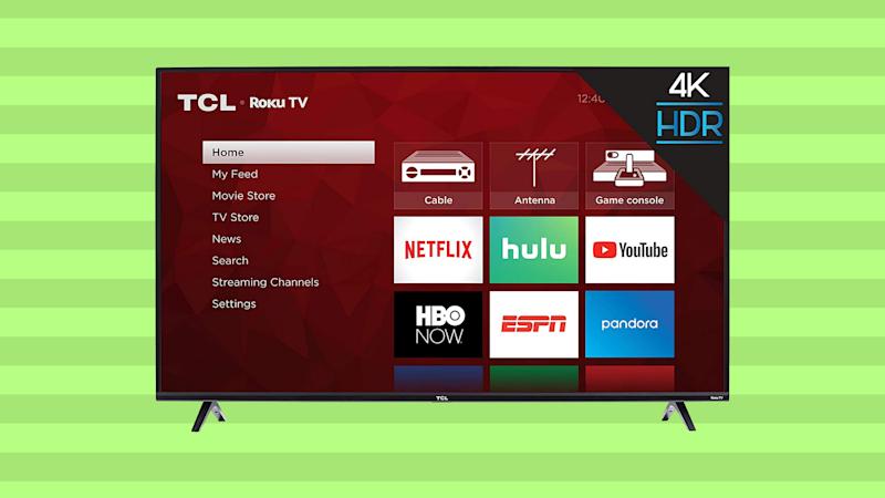 Save $100 on this TCL 43-inch 4K Ultra HD Roku Smart LED TV (43S425). (Photo: TCL)