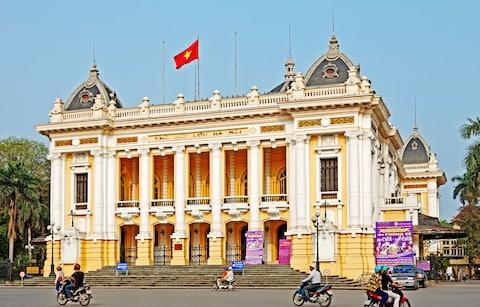 Hanoi Opera House - Credit: Getty
