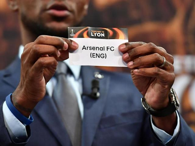 Europa League draw: Arsenal to play CSKA Moscow in quarter-finals