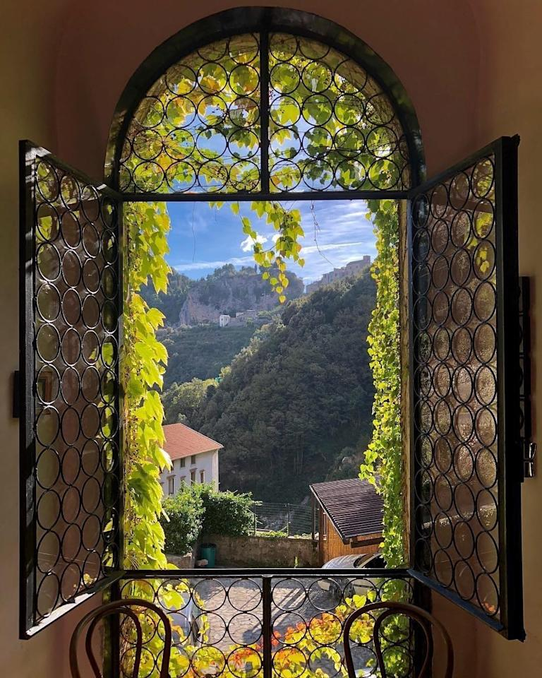 <p>We couldn't think of a more peaceful place to take your mind off things than this renovated mill in Ravello, Italy. Just a stone's throw from the Amalfi Coast, it's no wonder this photo racked up almost 90,000 likes. <em>[Photo: Airbnb]</em> </p>