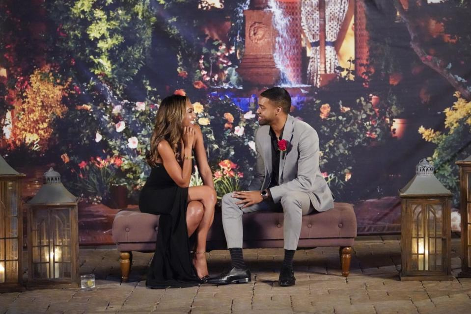 "<div class=""inline-image__caption""><p>Tayshia Adams and Ivan on <em>The Bachelorette</em></p></div> <div class=""inline-image__credit"">Craig Sjodin/ABC</div>"