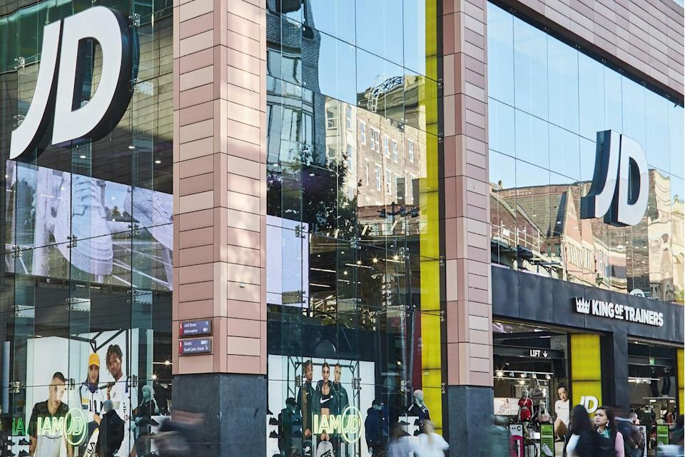 JD Sports is in line for higher profits (jd sports)