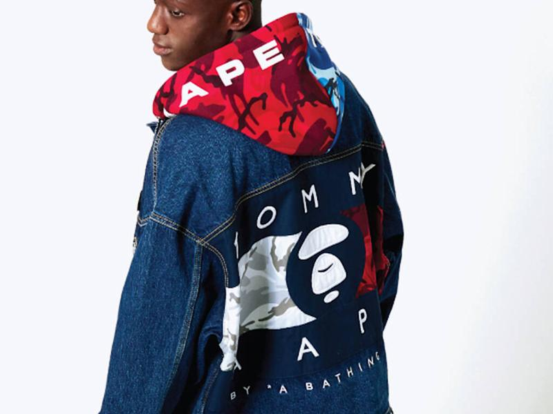 Tommy Hilfiger teams up with A Bathing Ape for capsule collection