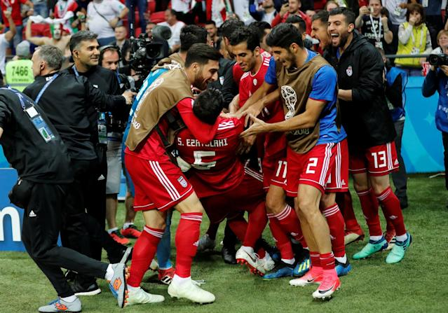 World Cup 2018: Iran member of staff leaves hospital after celebrating disallowed goal against Spain