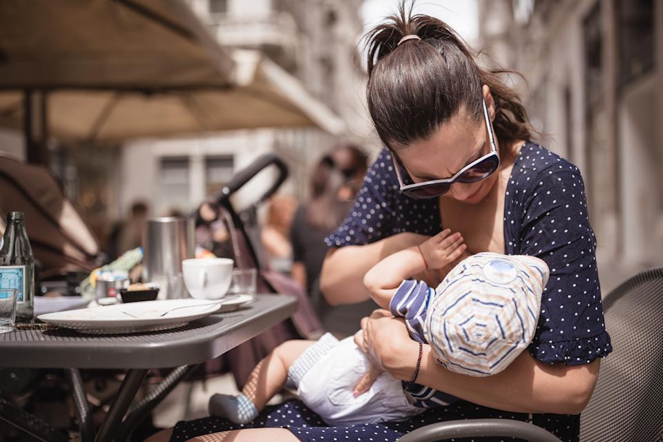 A new mum has been shamed for drinking too much coffee while breastfeeding [Photo: Getty]