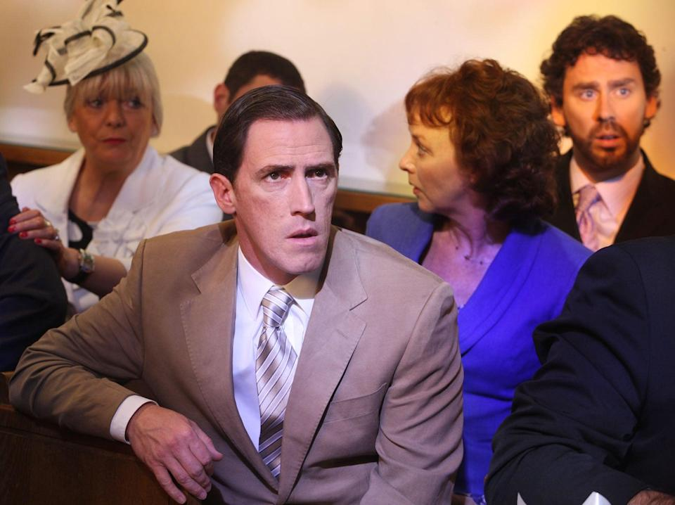 Rob Brydon and uncle Bryn (Baby Cow)