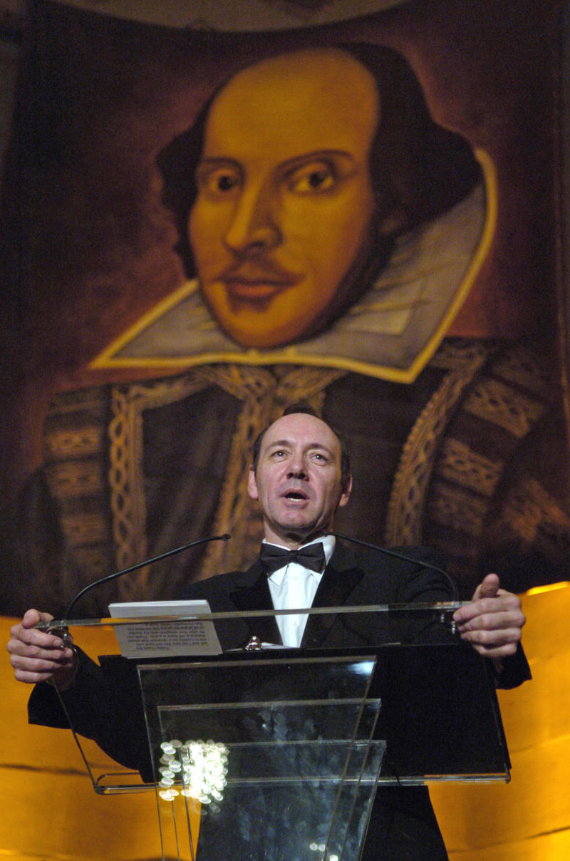 Kevin Spacey was practicing lines with Richard Dreyfuss and his son, Harry, for a play at London's Old Vic Theatre, where Spacey was artistic director, when the incident allegedly occurred. (Jonathan Ernst / Reuters)