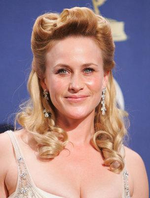 "The Good: in 2005, Patricia Arquette won an Emmy for Outstanding Lead Actress for her role in ""Medium."" The Bad: That meant even more people saw her Little Bo Peep haircut. (Photo by Jason Merritt/FilmMagic)"