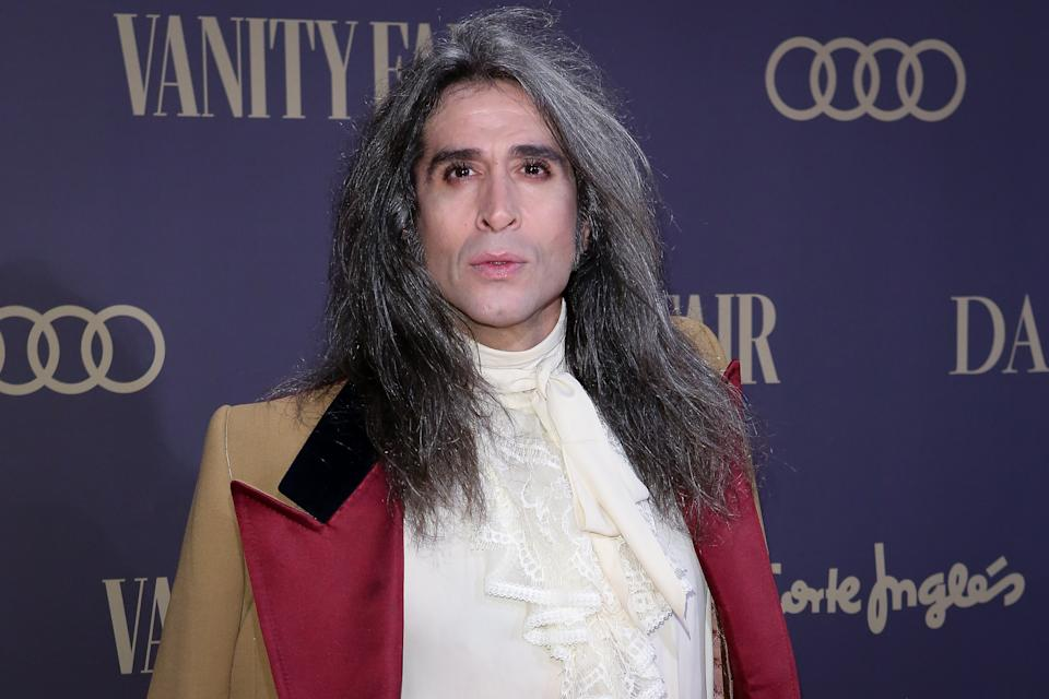 MADRID, SPAIN - NOVEMBER 25: Mario Vaquerizo attends the Vanity Fair awards 2019 at the Royal Theater on November 25, 2019 in Madrid, Spain. (Photo by Pablo Cuadra/WireImage)