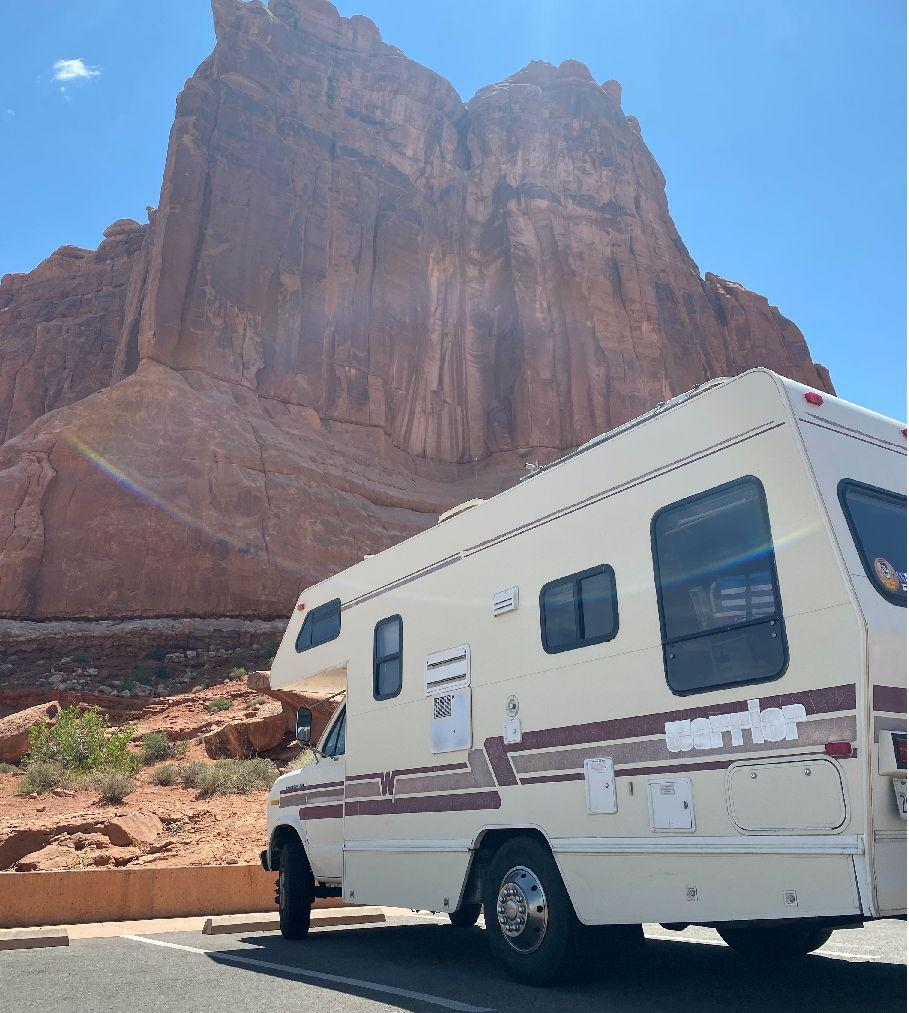 A stop at Arches National Park early in the trip. (Photo: Casey Bond)