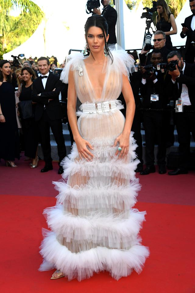 Kendall Jenner Keeps the Naked Dress Trend Alive a
