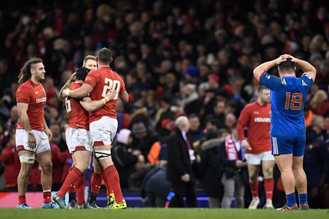 Wales 14 France 13: Hosts hold their nerve to seal second spot in Six Nations