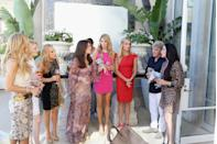 """<p>Yes, reshoots. Because if reality doesn't work once, try, try again. Cast members have been caught in public filming the same scene multiple times and the crew sometimes even sets up <a href=""""https://jezebel.com/real-housewives-of-nyc-cast-caught-staging-re-filmin-514008947"""" rel=""""nofollow noopener"""" target=""""_blank"""" data-ylk=""""slk:lighting"""" class=""""link rapid-noclick-resp"""">lighting</a> for the """"set"""" where they're filming.</p>"""