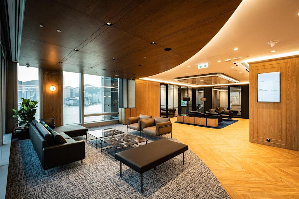 Standard Chartered is adding more spaces designed to provide wealth management advice in its branches, such as private meeting areas at its 8,800-square foot Priority Private Centre at K11 Atelier Victoria Dockside. Photo: Handout