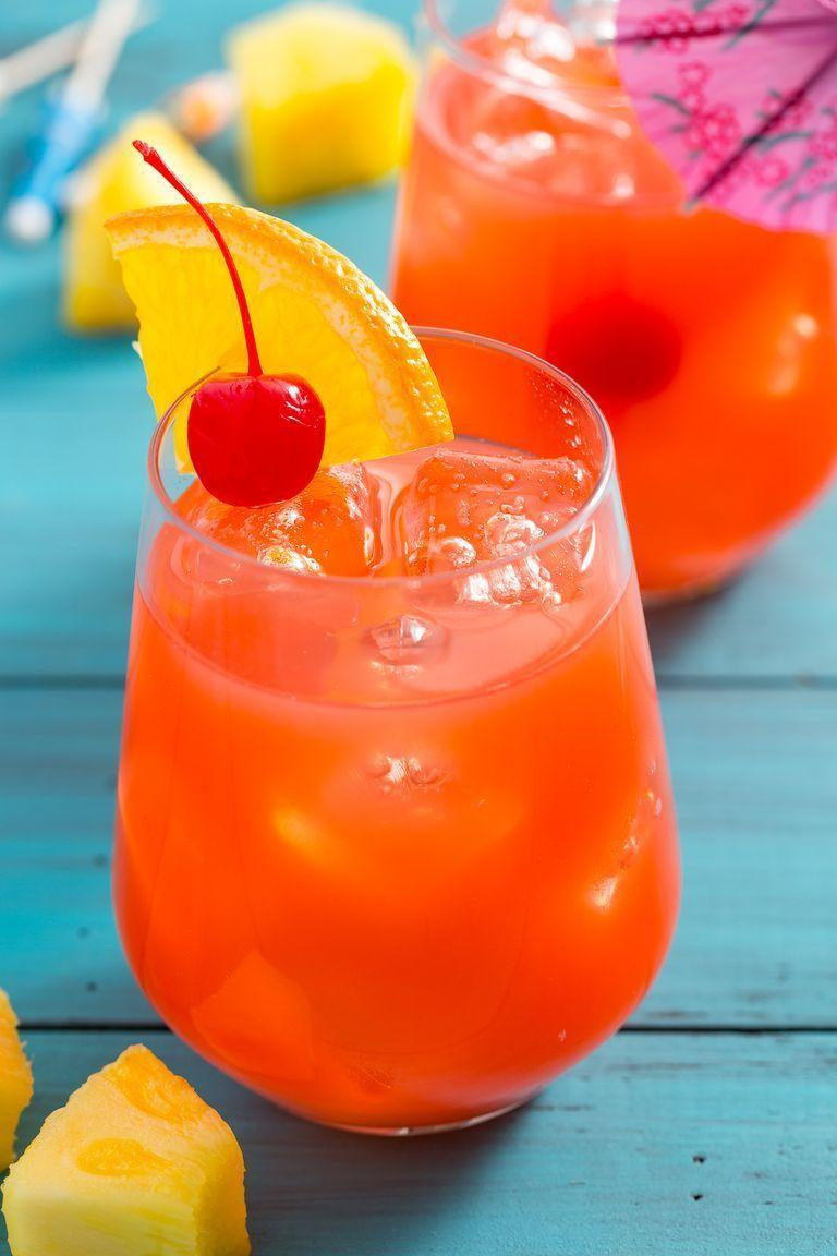 """<p>A New Orleans classic made with rum, fresh citrus and passionfruit juice, this sweet cocktail gets the party started.</p><p><em><a href=""""https://www.delish.com/cooking/recipe-ideas/a5631/best-ever-hurricane-recipe/"""" rel=""""nofollow noopener"""" target=""""_blank"""" data-ylk=""""slk:Get the recipe from Delish »"""" class=""""link rapid-noclick-resp"""">Get the recipe from Delish »</a></em></p>"""