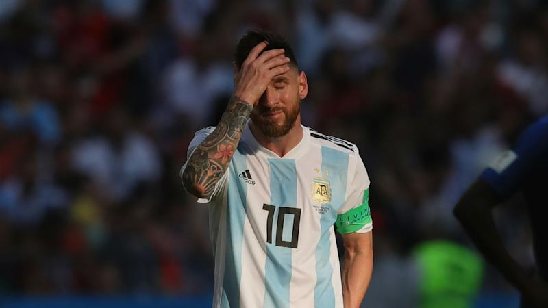 Messi hasn't spoken to Argentina boss 'for a while' as injury clouds international recall plans