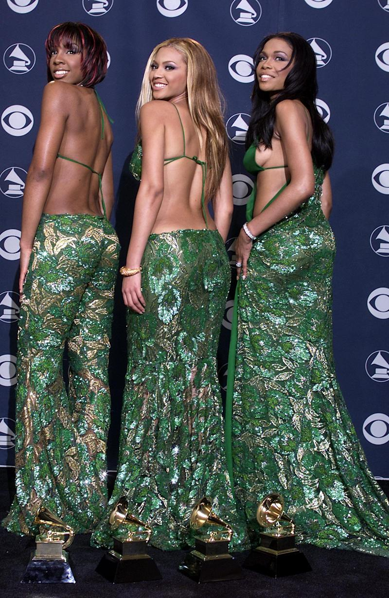 Destiny's Child: Kelly Rowland, Beyoncé and Michelle Williams (AFP/Getty Images)