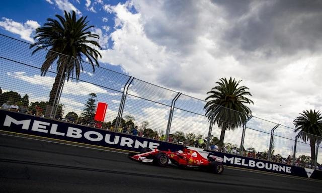 "<span class=""element-image__caption"">Sebastian Vettel during qualifying for the Australian F1 GP. The Ferrari driver says: 'It's always nice to have the feeling that these are the fastest cars we have ever driven.'</span> <span class=""element-image__credit"">Photograph: Mark Thompson/Getty Images</span>"