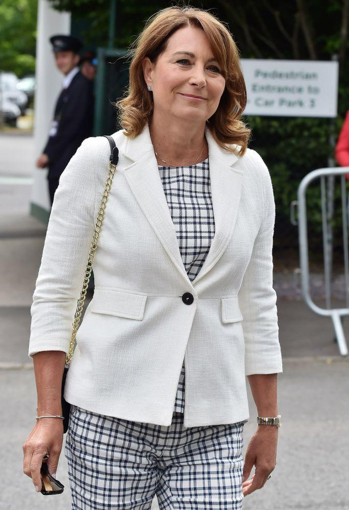 Carole Middleton in July 2017