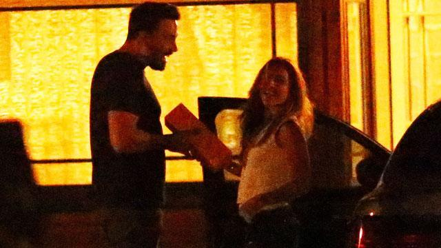 "More details are now coming out about Ben Affleck's late-night meet-up on July 17 with his ex-nanny, Christine Ouzounian. Both Ben and Christine smile big in this photo taken at a rental house, where Ben was staying at the time. The 42-year-old actor is seen coming out of the house to greet 28-year-old Christine, who was driving his car. According to an eyewitness, she was also seen driving Ben's Lexus earlier in the day to run errands, and spent about two hours at the house before leaving. <strong>WATCH: Ben Affleck's Former Nanny 'Tipped Off the Paparazzi' About Los Angeles Rendezvous </strong> A source previously told ET exclusively that Christine actually ""tipped off the paparazzi"" about the rendezvous, so that photos would be taken of her and Ben together. Splash News <strong>WATCH: A Somber Ben Affleck Returns Alone After Bahamas Trip With Jennifer Garner </strong> Late last month, Ben's rep slammed reports that the Oscar winner is romantically involved with Christine, calling them ""complete garbage"" and ""full of lies."" But Christine is reportedly claiming to friends that her relationship with the A-list star did indeed become intimate, according to <em>People</em>. ET can confirm she was seen at the Hotel Bel Air last month, where Christine's friend told the magazine that Christine would talk of trysts with Ben there. Meanwhile, Jennifer Garner is currently in Atlanta filming her latest movie, <em>Miracles From Heaven</em>. Last Sunday, she spent her day off visiting sick children at an Atlanta hospital with her co-star, Kylie Rogers, posing for pics with patients and their families. But while it may look like Jennifer is unbothered by the nanny rumors, E! News reports that the 43-year-old actress is actually ""livid"" over the story and ""eager for it to go away."" <strong>WATCH: Did Ben Affleck and Jennifer Garner's Ex-Nanny's Engagement End Because of the Actor? </strong> Christine was let go by the former couple after working for the family for a ""matter of months,"" a source previously told ET. Her closest friends thought she was being strangely tight-lipped about the reason for her firing, the source added, though Ben wrote a glowing recommendation letter on her behalf. She also joined Ben and Jennifer in the Bahamas last month, around the time the two announced they were divorcing, though Ben returned to Los Angeles alone. Watch the video below for more details on Christine, including the fact that she was previously engaged to a local fisherman in the Bahamas."