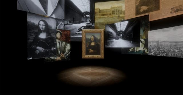 """<p>眾所皆知的法國羅浮宮鎮館之寶《蒙娜麗莎》也將以VR呈現