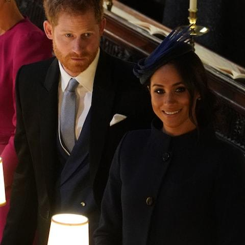 The Duke and Duchess of Sussex - Credit: AFP