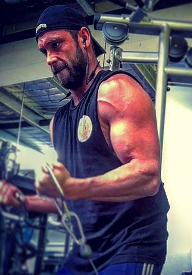 Jake regularly posts photos of himself working out to his Instagram page. Source: Instagram