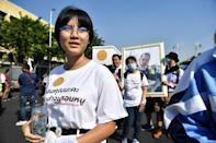 "Teenage protest leader Benjamaporn ""Ploy"" Nivas is at the forefront of Thailand's ""Bad Student"" movement, challenging the country's rigid educational norms"