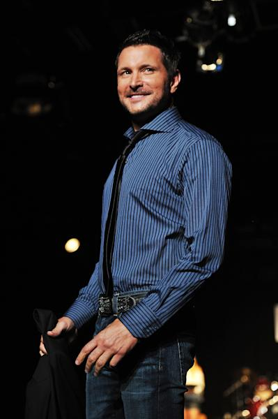 Ty Herndon attends Country Weekly's 5th annual fashion show & concert in Nashville, Tennessee, June 7, 2011 (AFP Photo/Mike Coppola)