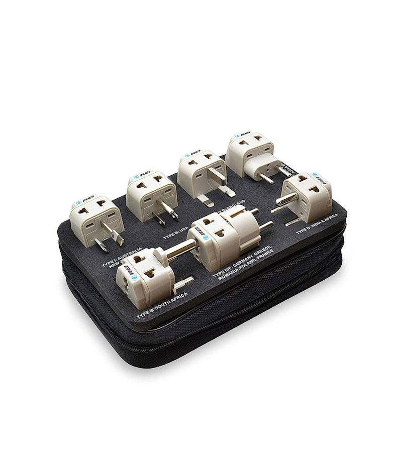 Orei 7 World Travel Adapter Plug Set (Photo: Amazon)