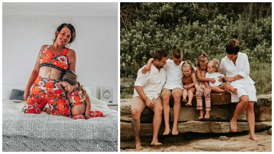 Mel Watts has touched hearts with an honest post about how her relationship has changed since having kids. Facebook/The Modern Mumma